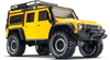 TRAXXAS TRX-4 DEFENDER SCALE AND TRAIL CRAWLER Yellow with TQi 2.4Ghz Bluetooth Radio - 82056-4YLW