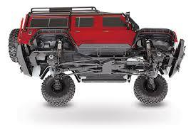 TRAXXAS TRX-4 DEFENDER SCALE AND TRAIL CRAWLER Red 82056-4RED