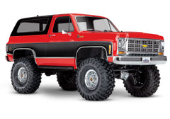 TRAXXAS TRX-4 CHEVY K5 BLAZER CHEYENNE Red with TQi 2.4Ghz Radio - 82076-4RED