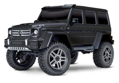 TRAXXAS TRX-4 MERCEDES G500 4X4 SCALE AND TRAIL CRAWLER Black with TQi 2.4Ghz Radio - 82096-4BLK