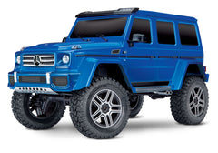 TRAXXAS TRX-4 MERCEDES G500 4X4 SCALE AND TRAIL CRAWLER Blue with TQi 2.4Ghz Radio - 82096-4BLUE