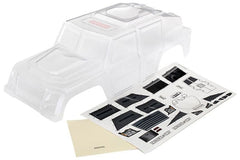 TRAXXAS TRX4 TACTICAL CLEAR BODY SHELL - 8211