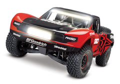 TRAXXAS UNLIMITED DESERT RACER 4WD RACE TRUCK Rigid Ind. with TQi 2.4Ghz Radio, Light Kit and TSM - 85086-4RGD