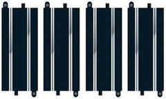 SCALEXTRIC Track Extension Pck 4, 4 Std Straights - C8526
