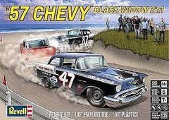 REVELL 57 CHEVY BLACK WIDOW 2in1 1:25 - 85-4441