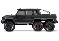 TRAXXAS TRX-6 MERCEDES-BENZ G 63 AMG 6x6 BLACK with 2.4Ghz Radio - 88096-4BLK