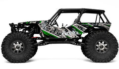AXIAL WRAITH 1/10 EP 4WD RTR TRUCK with AX-3 2.4Ghz Radio System - AX90018