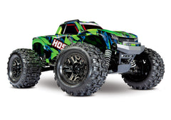 TRAXXAS HOSS 1:10 GREEN SCALE MT with TSM and TQi 2.4Ghz Radio - 90076-4GRN