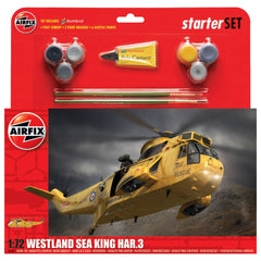 AIRFIX Westland Sea King HAR.3 Large Starter Set - 55307A