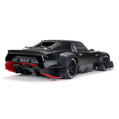 ARRMA FELONY STREET BASH BLACK 6S BLX 1:7 ALL-ROAD RESTO-MOD MUSCLE CAR ARA7617V2T1