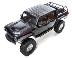 AXIAL SCX10 III Gray Jeep JT Gladiator Rock Crawler with Spektrum DX3 2.4Ghz Radio - AXI03006T1