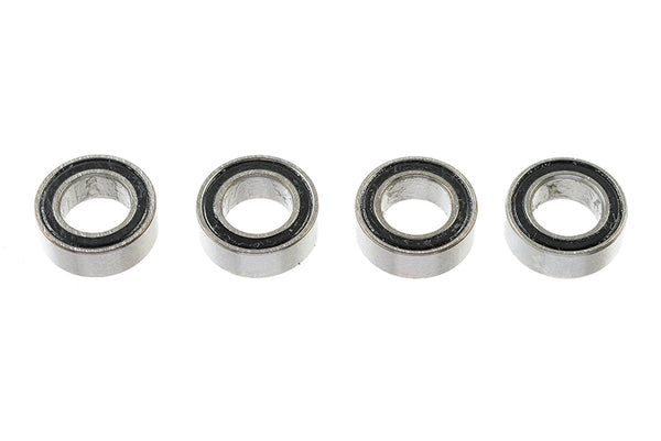 Chrome Ball Bearing ABEC 3, rubber shielded , 4X7X2,5 - MR74-2RS, (4 pcs) GF-0500-002