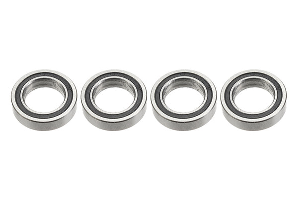 Chrome Ball Bearing ABEC 3, rubber shielded , 10X16X4 - MR1016-2RS, (4 pcs) GF-0500-018