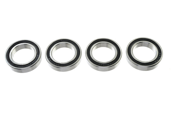 Chrome Ball Bearing ABEC 3, rubber shielded , 20X32X7 - MR6804-2RS, (4 pcs) GF-0500-029