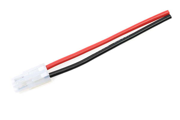 Tamiya connector, Male, silicon wire 14AWG, 10cm (1pc) GF-1073-002