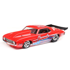 LOSI 1969 Camaro 22S Red 'Summit' Brushless No Prep Drag Car with Spektrum SLT3 Radio - LOS03035T1