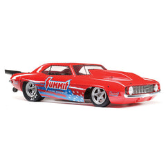 LOSI 1969 Camaro 22S Red 'Summit' Brushless No Prep Drag Car LOS03035T1