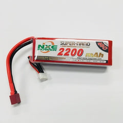 NXE 2200mah 11.1V 40C Soft Case Lipo Battery - 2200SC403SDEAN