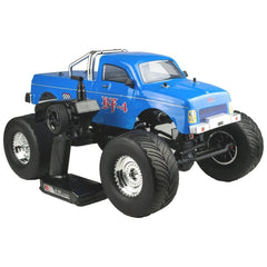 RIVERHOBBY 1:10 Blue BF-4 4WD ROCK MONSTER UTE with 2.4Ghz Radio, Brushed Driveline, Battery and Charger - RH-1046C