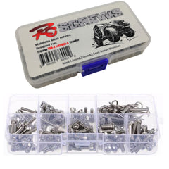 RCT TRX-4 82056-4 Stainless Steel Screw Set Box - RCTEL03001
