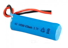 Li-Ion Battery 650mah 3.7V with Mini Losi Plug - TRC-H116-09