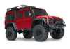 TRAXXAS TRX-4 DEFENDER SCALE AND TRAIL CRAWLER Red with TQi 2.4Ghz Bluetooth Radio - 82056-4RED