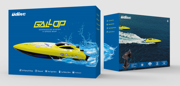 UDI Gallop 2.4Ghz High Speed Boat RTR 25km/h - UDI-008
