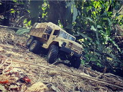 1-16Th Scale 6X6 Military Rock Crawler - Ready To Run