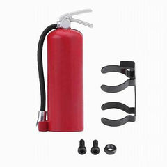 YEAH RACING 1:10 Red Fire Extinguisher and Mount Scale Accessory - YEA-YA-0352