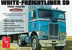 AMT 1/25 Wht Freightliner Tractor - AMT1004