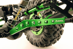 AXIAL AX10.MACHINED HI-CLEARANCE LINKS (GREEN) AX30465
