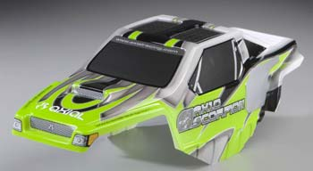 AXIAL XC-ROCK CRAWLER BODY ONLY GREEN AX4021