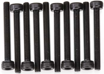 AXIAL M3X25MM CAP HEAD (BLACK OXIDE) 10PCS AXA089