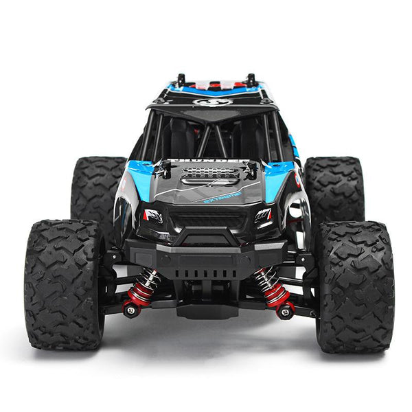 THUNDER 1:18 4WD TRUCK Blue with 2.4Ghz Radio, Battery and Charger - TRC-18312