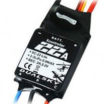 Dualsky XC-22-LITE Brushless Speed Controller; 22A, 2-3S -DSXC22LITE