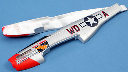 E-RC PAINTED FUSELAGE: MICRO P-51 - ERC2005