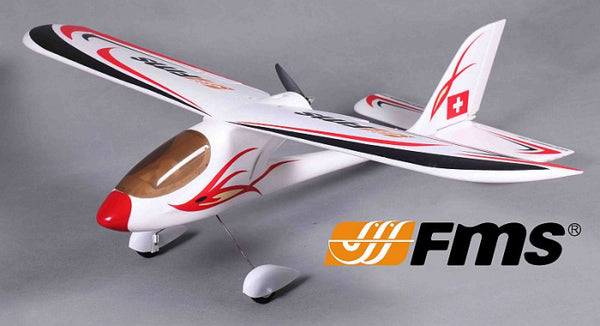 FMS Red Dragonfly 900mm RTF M2 FMS064R-M2