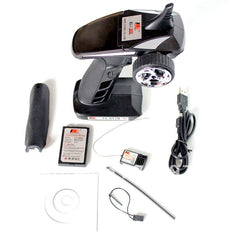 FLYSKY 3Ch 2.4Ghz Radio System with Receiver and Rechargeable Battery - FS-GT2B