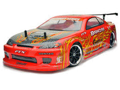 FTX BANZAI 1:10 Onroad Car with Brushed Motor, 2.4Ghz Radio, Battery and Charger - FTX-5529