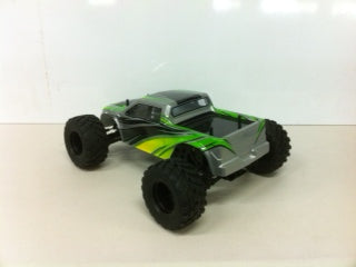 HBX 1:12 GROUNDCRUSHER Truck with 2.4Ghz Radio, Brushed Motor, Battery and Charger - HBXGROUNDCRUSHER