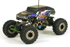 ROCK FIGHTER 1/10 ELECTRIC ROCK CRAWLER with 2.4GHz Radio System, 4 Wheel Steer, Charger & Battery - HBXROCKFIGHTER