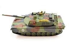 HOBBY ENGINES M1A1 Abrams Tank in Camo with 2.4Ghz Radio, Batteries and Charger - HE0811