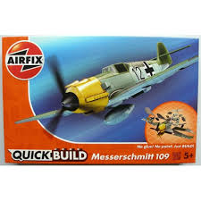 AIRFIX QUICKBUILD MESSERSCHMITT 109 - J6001