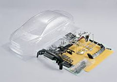 KILLERB Mitsubishi EvoX 1:10 Onroad Clear Body Shell Incl Access. - KB48001