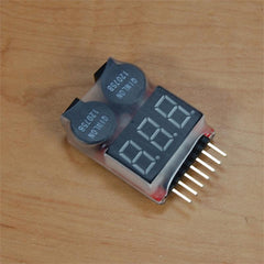 ACE Lipo Tester and Low Voltage Alarm 1-8S - ACE-LIPOCHECK