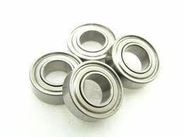 Chrome Ball Bearing ABEC 3, metal shielded , 5X9X3 - MR95ZZ, (2 pcs) GF-0550-022