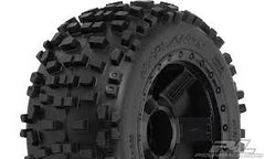 PROLINE Badlands 3.8in Traxx Style On Blk Desperado 1/2in Offset Rims - PR1178-11