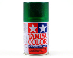 TAMIYA TRANSLUSCENT GREEN SPRAY PAINT 100ML PS-44