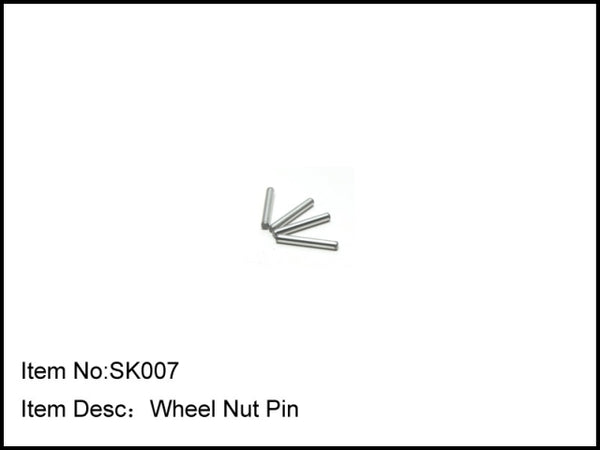 Caster Buggy Wheel Nut Pin - CASK077