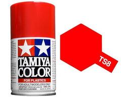 TAMIYA TS-8 SPRAY ITALIAN RED